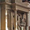 Ausschnitt Choransicht Stadtkriche mit Epitaph der Schenken von Limpurg und Kreuz