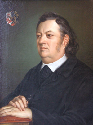 Portrait von Justinus Kerner