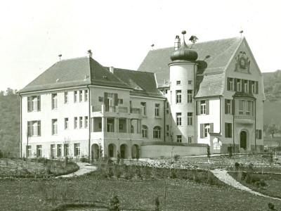 alte Fotografie des ehemaligen Krankenhauses