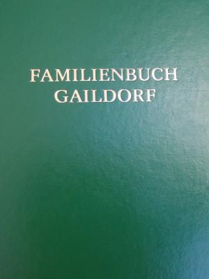 Familienbuch Gaildorf